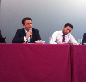 Michael Stewart as part of a panel discussion at ECMOD '12
