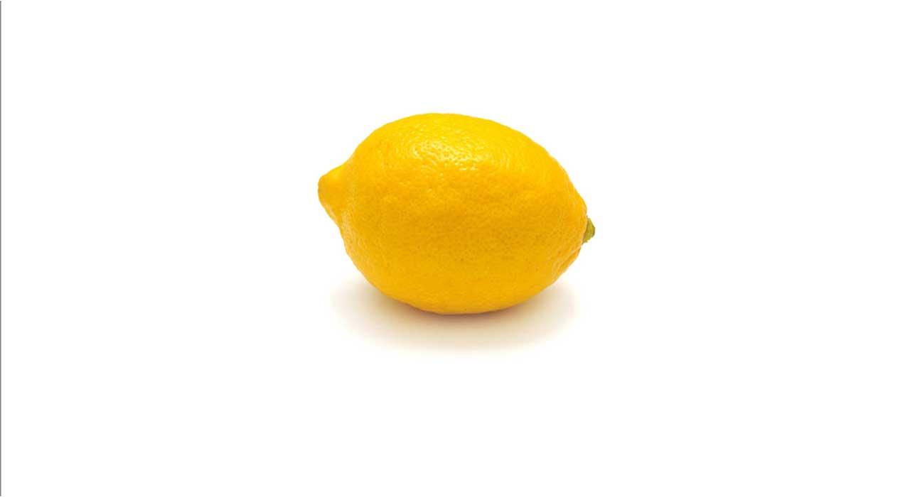 If it looks like a lemon...