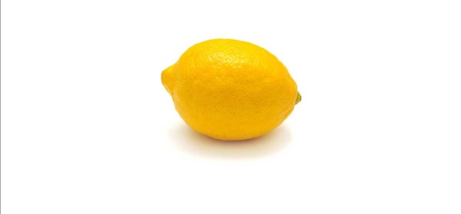 If it looks like a lemon...